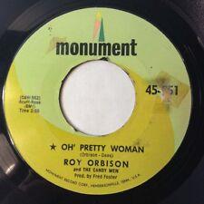"""Roy Orbison 45 Oh, Pretty Woman/Yo Te Amo Maria 1964 POP VOCAL ROCK&ROLL VG++ 7"""""""