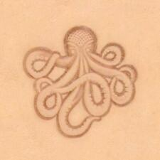 Ivan 3D Leather Stamp - Octopus (8674-00)