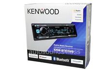 New Kenwood KMM-BT515HD MP3/WMA Digital Media Player Bluetooth HD Radio SiriusXM
