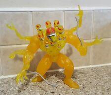 TOYBIZ 1996 Planet of The Symbiotes VENOM THE MADNESS Yellow Variant figure