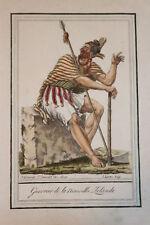 NOUVELLE ZELANDE 4 GRAVURES COULEURS 1796 - GRASSET SAINT SAUVEUR