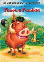Disney's The Lion King's Timon & Pumbaa Post Card.
