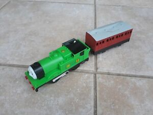 Thomas Trackmaster Oliver train with original carriage (battery op'd) VERY RARE