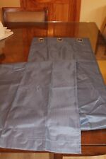 "Blue Curtain Panel 40"" wide x 95"" long with Grommets"