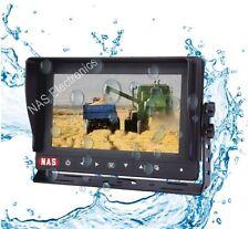 "Car Security Reversing Camera Waterproof 7"" Monitor Digital Screen Rear Vision"