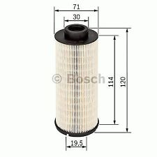 GENUINE OE BOSCH FUEL FILTER N1724- HAS VARIOUS COMPATIBILITIES