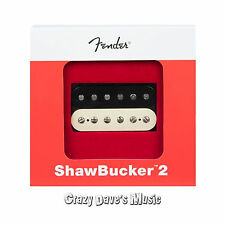 Fender ShawBucker 2 Humbucker Pickup Zebra 0992249002