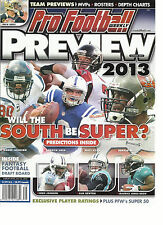PRO FOOTBALL WEEKLY PREVIEW, 2013 (WILL THE SOUTH BE SUPER ? *PREDICTIONS INSIDE