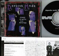 Ex+! DEPECHE MODE Songs Of Faith&Devotion JAPAN CD TOCP-3293 w/INSERT NO OBI