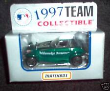 1997 Milwaukee Brewers Plymouth Prowler Matchbox Car