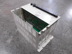 USED Toyoda MC256-A014/090 Servo Controller Slot Rack w/ Power Supply