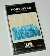 1978 Foreigner Double Vision Cassette Tape - Hot Blooded