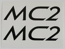 Klein MC2 ~ Klein Adroit MC2 ~ MC2 Decals ~ MC2 Black Decal Set