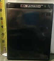 1 Brand New Premium 4K Ultra HD Media Case with Emblem, 12.5mm, w/Insert Clips