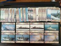 1991 Pro Set Desert Storm Cards Military Asset : Fighting Ship Lot of 33
