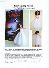 Sindy Sewing pattern, 'The Red Shoes' Ballet Dress and Tights