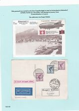 More details for two pages. a study of stamps/covers re stamp dealers szekula family. (lot c)