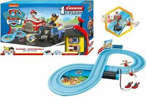Paw Patrol Electronic Carrera Racing System Track & 2 Cars Toy Playset 1:50