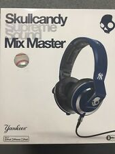$350 Skullcandy Supreme Sound Mix Master Headphones W Mic New York Yankees blue