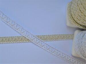 Beautiful decorative viscose braid tape 14 mm wide, clothing upholstery decor