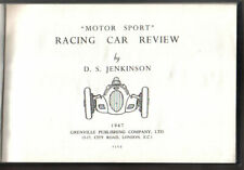 Racing Car Review 1947 by Jenkinson Alfa Romeo Alta ERA Maserati Mercedes Benz +