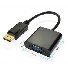 Display Port 15Pin DisplayPort DP to VGA Female Video Converter Cable Adapter