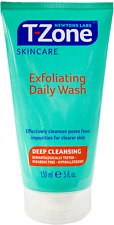 T-Zone - Exfoliating Daily Wash - Deep Cleansing - 150ml - Brand New