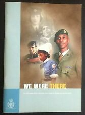 Ministry Of Defence History Book We Were There Women At War Military 2002