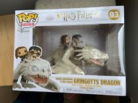 Harry Potter + Hermione + Ron on Gringott's Dragon Funko Pop Vinyl New in Box