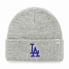 MLB Los Angeles Dodgers Wollmütze Wintermütze Brain Freeze Mütze grau Baseball