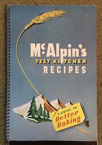 McAlpin's Test Kitchen Recipes SPIRAL SC