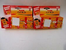 Kodak Gold 100 color film expired 07/2001 8 rolls 35mm 135-24 new old stock