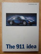 PORSCHE 911 RANGE orig 1996 UK Mkt HARDBACK Sales Brochure - 993 Turbo GT2 Targa