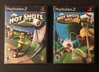 Hot Shot Golf PS2 bundle CIB (Black Label)