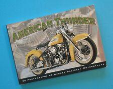 Harley Postcard Book Motorcycle History JDH XLCH EL WL XL GA VL WR VE WLD FLH
