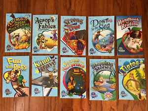 Abeka 1st Grade READERS Lot of 9 Books and the Handbook for Reading