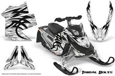 SKI-DOO REV XP SNOWMOBILE SLED CREATORX GRAPHICS KIT WRAP TRIBAL BOLTS WHITE
