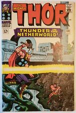 THOR #130 - Hercules, Crusher, Pluto - Stan Lee, Jack Kirby - Marvel Comics 1966
