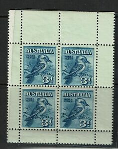 Australia SG# 106a, Mint Never Hinged, sm visible dot in margin - S12923