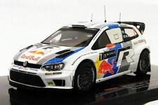 Ixo 1/43 Scale RAM551 - VW Polo R WRC - #7 Winner Acropolis 2013
