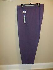 Just My Size Women's plus Fleece Sweatpants Violet Petite Pants 5X(30w-32w) New