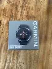 armin 010-01988-01 Fenix 5 Plus Smart Watch - Sapphire Black
