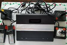 Atari 7800 ProSystem Console w/FIVE Controllers & Mechanical TV RF Switch Box