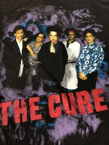 True Original Vintage The Cure 1992 Prayer Tour Tee Shirt T-Shirt - Size M/L