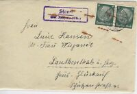 German Postal History Stamps Cover Ref: R4663