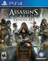 Assassin's Creed: Syndicate Sony PlayStation 4 PS4, NEW SEALED
