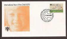 Australia 1979 FDC. International Year of the Child