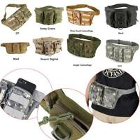 Outdoor Oxford Tactical Bag Waist Fanny Pack Pouch Belt Military Camping Hiking