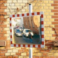 More details for durabel high quality, stainless steel traffic mirror, virtually indestructible