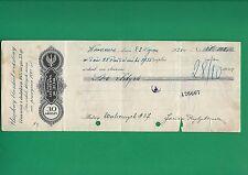 Poland Promissory note - POLSKI WEKSEL - Ludwik Rohn - 1935  URZĘDOWY BLANKIET
